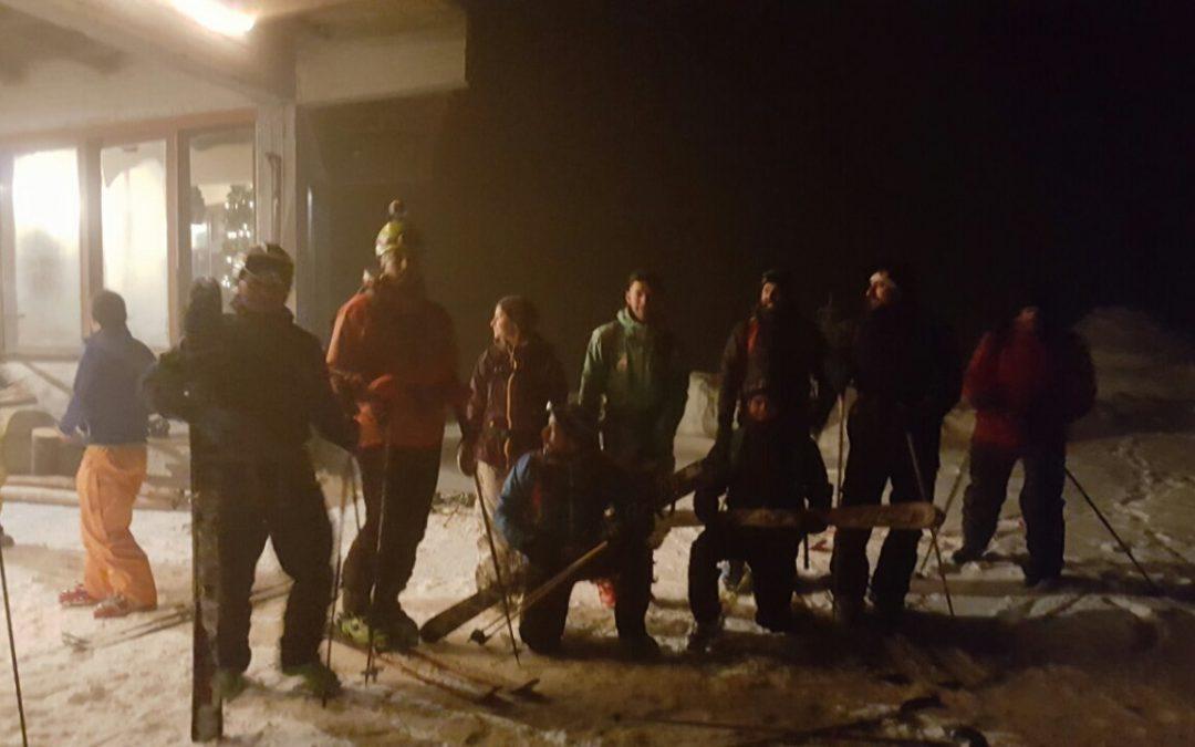 Νυχτερινό Ορειβατικό Σκι